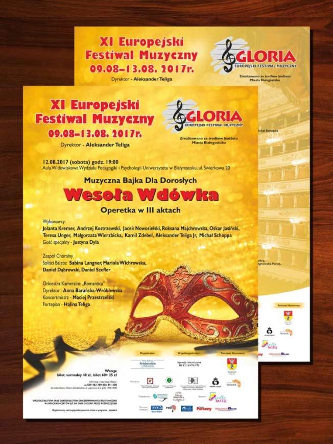 """XI Europejski Festiwal Muzyczny """"Gloria"""""""